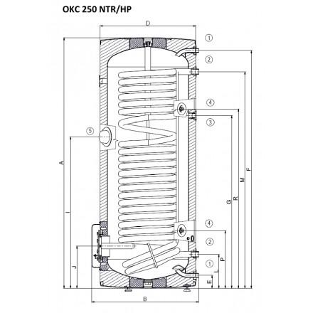 luft wasser w rmepumpe 260 mit w rmetauscher wasser. Black Bedroom Furniture Sets. Home Design Ideas