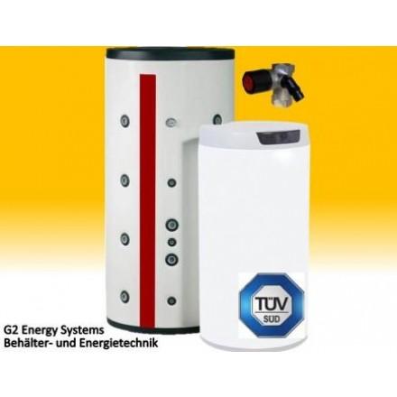 200 250 Liter Warmwasserspeicher mit 1WT, Standspeicher Boiler ...