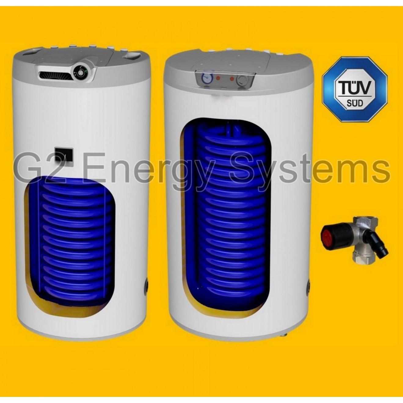 100 liter indirekter beheizter warmwasserspeicher mit 1 w rmetauscher anschl ss. Black Bedroom Furniture Sets. Home Design Ideas
