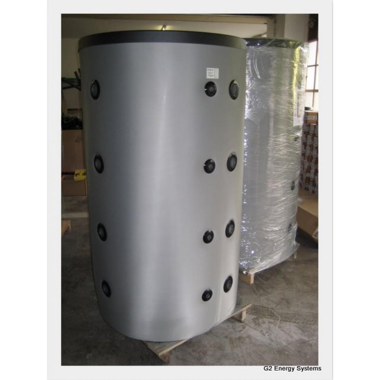1000 liter pufferspeicher mit 2 w rmetauschern g2 energy. Black Bedroom Furniture Sets. Home Design Ideas